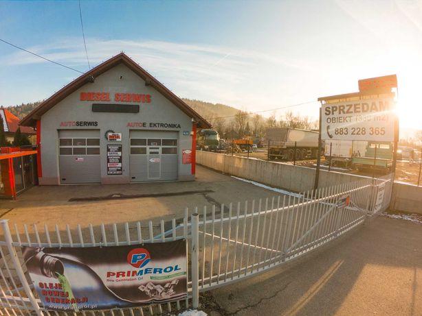 Obiekt handlowo-usługowy Magazyn Warsztat Serwis Nieruchomość 500m2