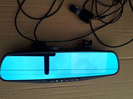 Rejestrator Samochodowy Lusterko Kamera Samochodowa plus karta 16GB