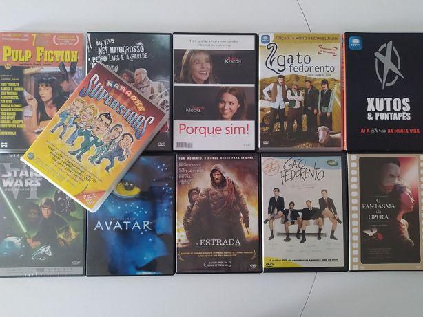 Vários DVDs (Filmes, Humor e Musica)