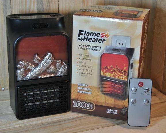 Обогреватель с пультом flame heater 1000ватт