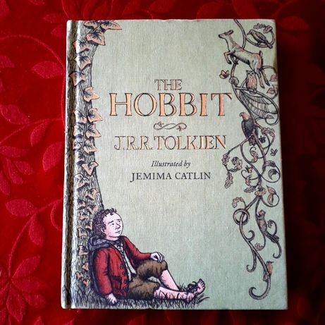 J R R Tolkien - The Hobbit, Ilustrated by Jemima Catlin 2013 NOVO