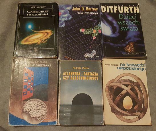 Książki czarne dziury atlantyda teorie wszystkiego