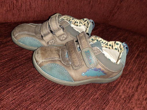 Шкіряні черевички Clarks кожаные ботинки