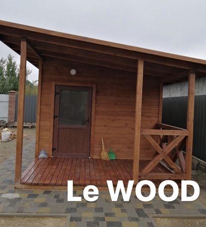 Каркасний будинок, дачний будинок, дерев'яний будинок, каркасный дом