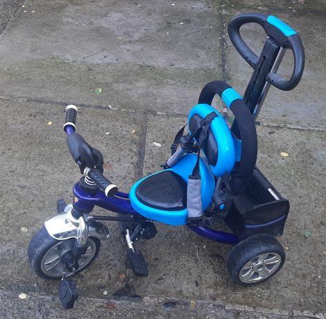 детский 3-х колёсный велосипед TRIKE с родительской ручкой
