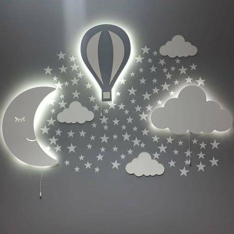 Светильник в детскую комнату на стену , ночник для детей