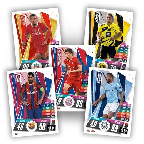 Karty Match Attax 2020/2021 LM i LE