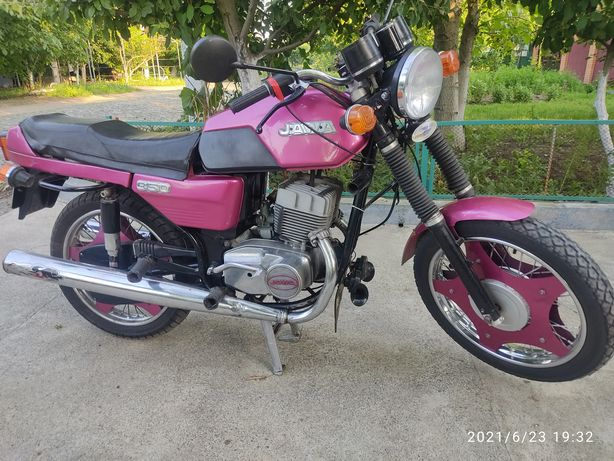 Мотоцикл ЯВА 350 638