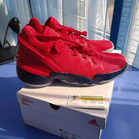 Размер 28.5 см. Баскетбольные кроссовки Adidas D.O.N. Issue 2 (FX6519)