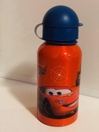 Фирменная металлическая бутылка- поилка. Термос