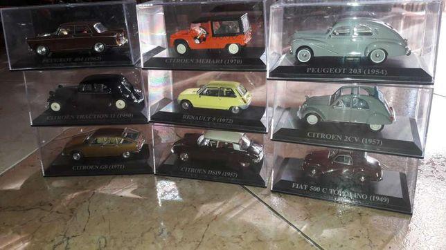 Coleção miniaturas carros antigos
