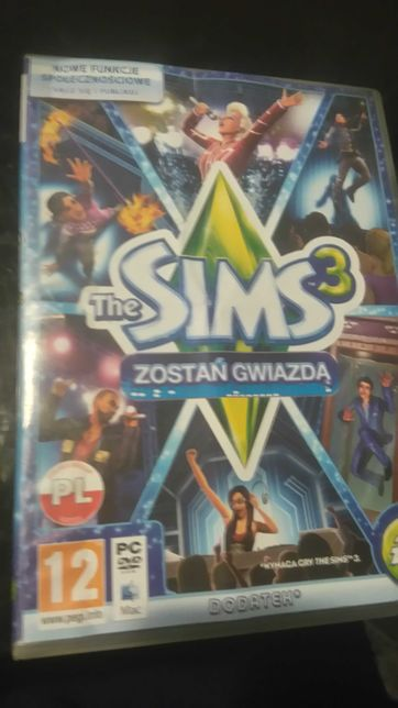 The Sims 3-zostan gwiazda pc pl dodatek do gry komputerowej