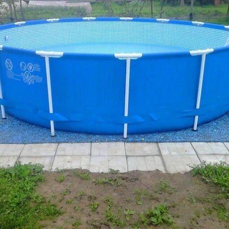 Каркасный круглый бассейн «Intex»