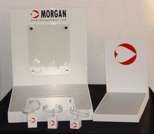 5 Expositores de Ouriversaria - Morgan de toi - usados