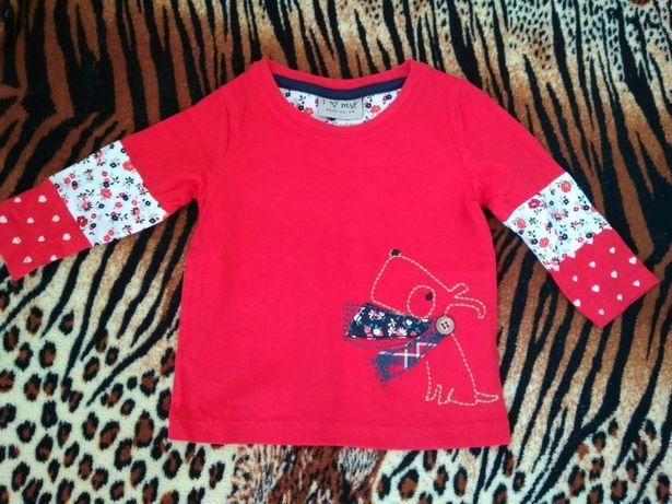 Новая кофта Next на девочку мальчика детская одежда гольф свитер