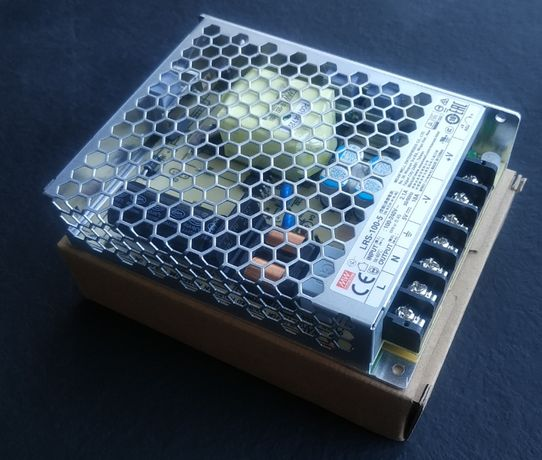 Mean Well LRS-100-5 драйвер трансформатор 5В 18А led светодиодная