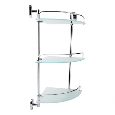 Угловая полочка в ванную комнату LIDZ-114.10.03