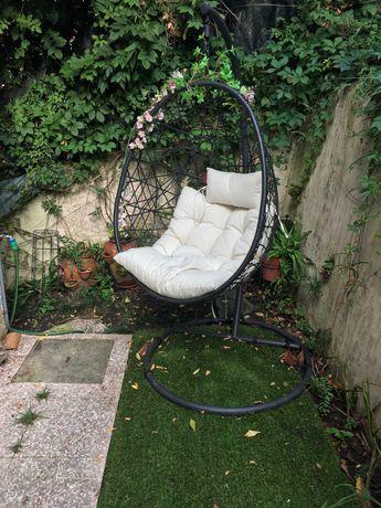 Cadeira de Baloiço de jardim