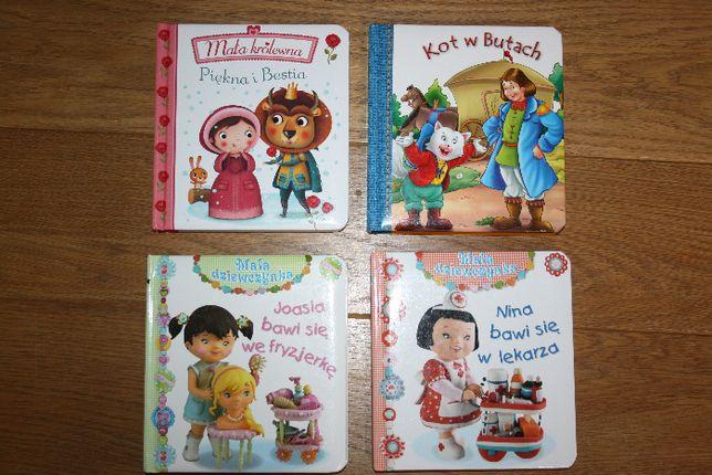 Zestaw książeczek dla dziecka 4 szt.