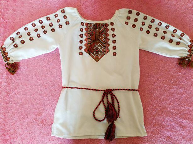 Вишиванка - туніка для дівчинки (вышиванка)