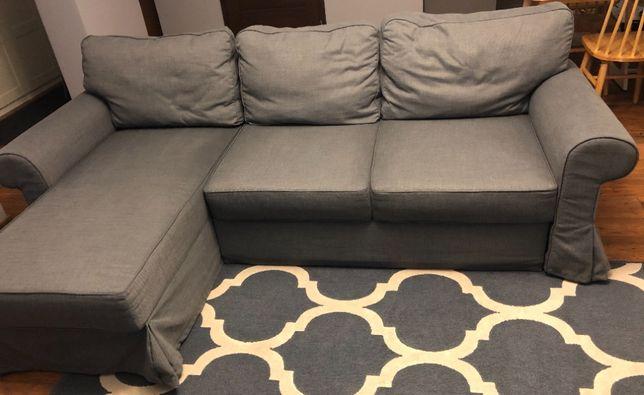 Sofa ciemnoszary IKEA
