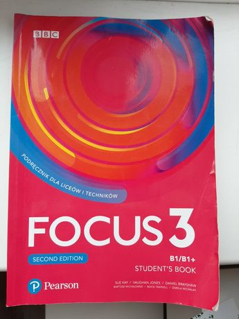Podręcznik Focus 3 Second Edition