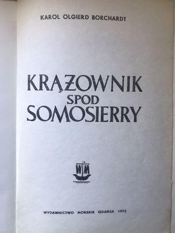 "Książka pt ""Krążownik spod Somosierry"""