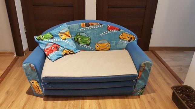 Składany tapczanik-materac dla dziecka