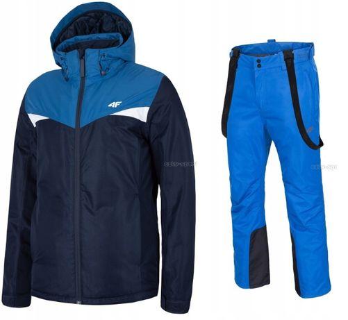 MĘSKI Kombinezon narciarski 4F kurtka + spodnie rozmiar L
