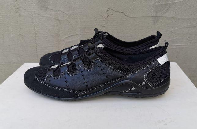 Кожаные кроссовки туфли балетки ECCO Vibration II 40 р. Оригинал