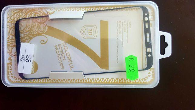 Vendo protetor de ecrã novo Sansung S8