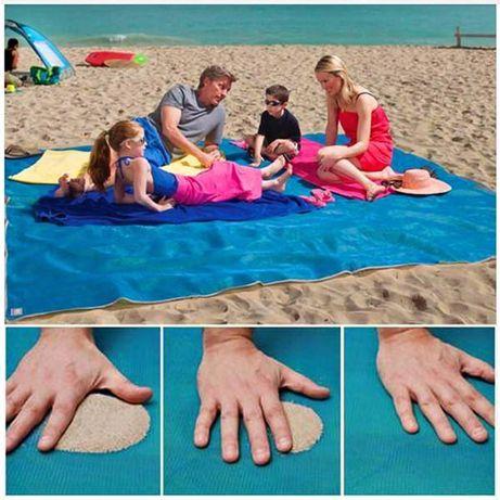 MATA Plażowa Koc Na Plażę SAND FREE MAT