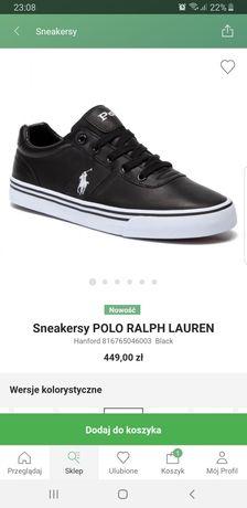 Buty Polo Ralph Lauren Hanford, nowe sneakresy roz. 42r