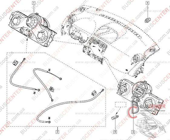 Трос печки Renault Kangoo II