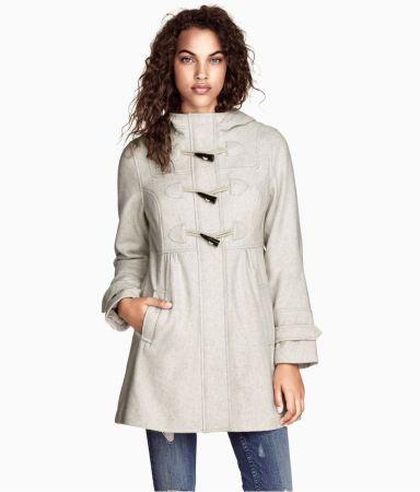 Пальто куртка дафлкот h&m срочно!. 500 руб