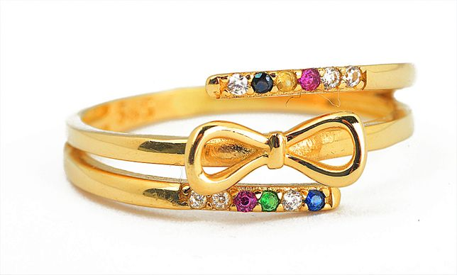 Złoty pierścionek dla dziewczynki 3916/31