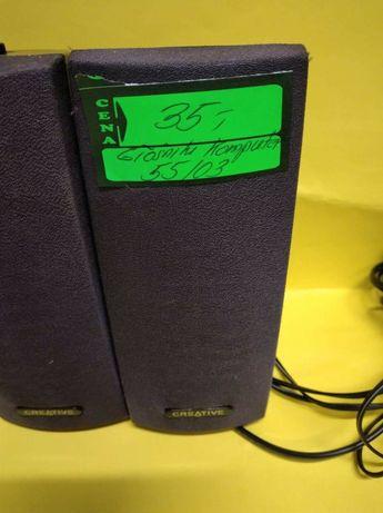 Głośniki komputerowe plus myszka USB. Lombard