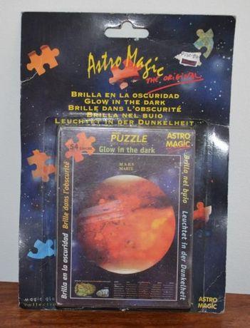 Puzzles Astros Fosforescentes-54 peças-Brilham no escuro – Astro Magic