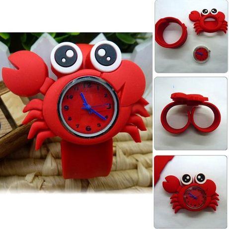 Детские силиконовые часы, идеальный подарок Новый Год, Николай