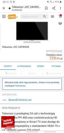 Tv Jvc 24vw52k