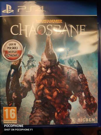 Warhammer Chaosbane PS4 Polska Wersja. Możliwa wysyłka