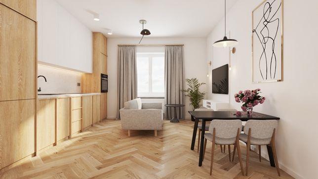 Mieszkanie 54m2 Centrum C piękny widok, słoneczne