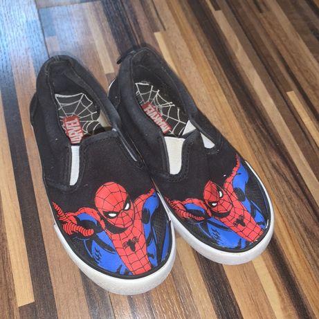 Туфли черные и Кеды Marvel Spiderman 25 - 26
