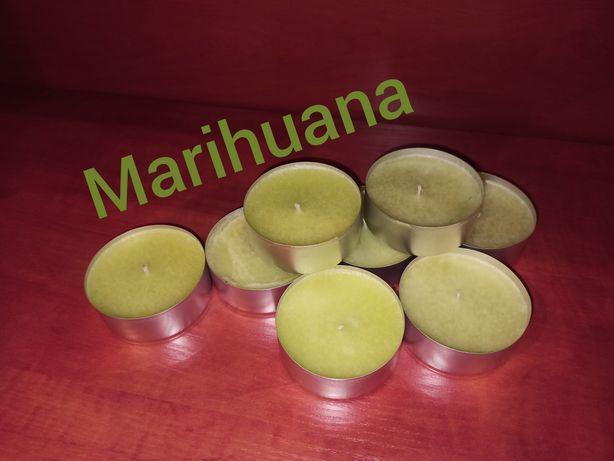Świece zapachowe dla mężczyzn marihuana