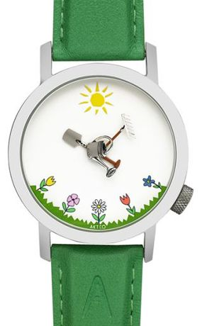 AKTEO zegarek zielony ogrodnik z Holandii PREZENT