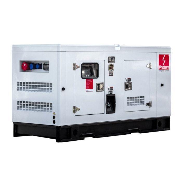 Agregat prądotwórczy przemysłowy 230/400 ZABUDOWANY 30-125 kVA Rososzyca - image 1