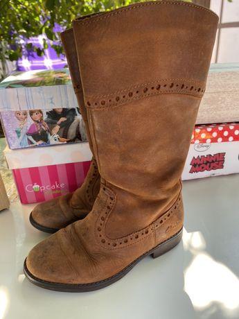 Ботинки clarks  для девочки 28 размер
