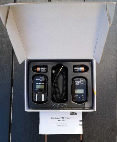 Pixel TR-331 Nikon wyzwalacz radiowy do lamp błyskowych