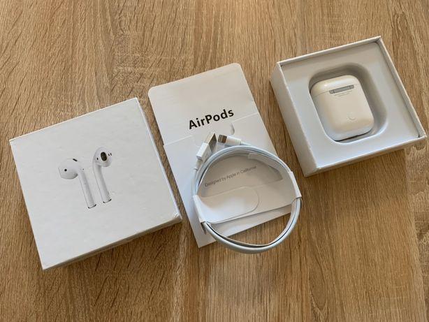 Oryginalne Słuchawki bezprzewodowe APPLE AirPods MMEF2ZM/A