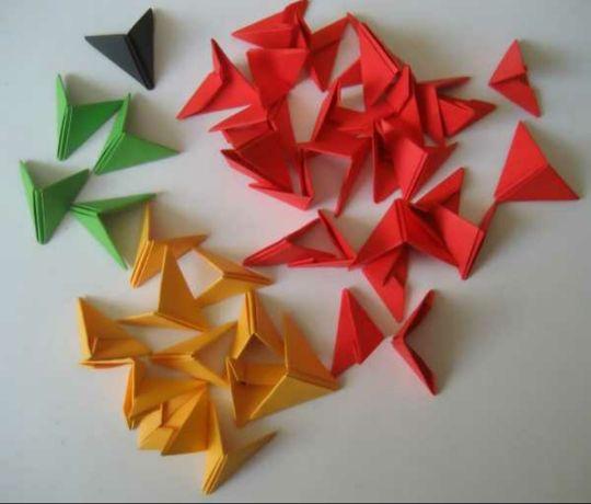 Модули для модульного оригами. 8 грн за 100 шт